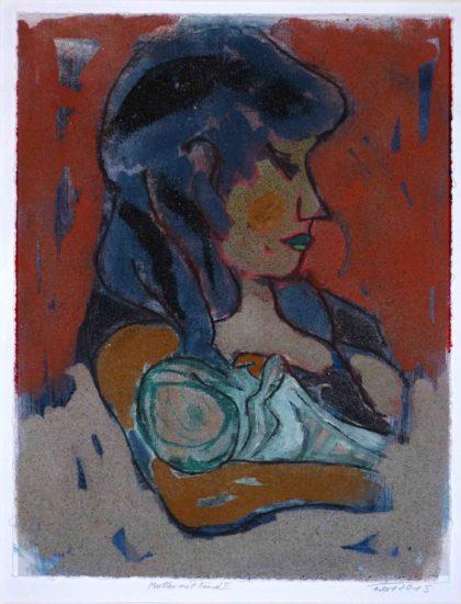 Heinz Ferbert - Mutter und Kind