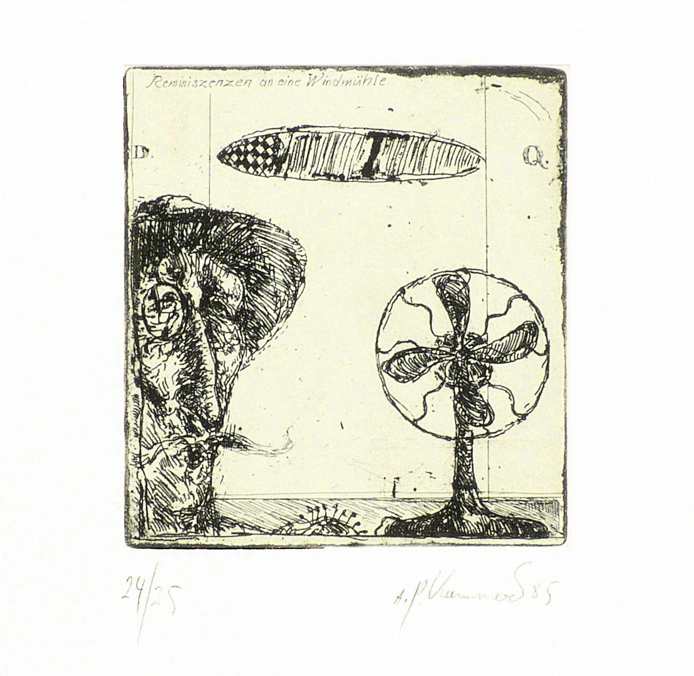 Reminiszenzen an eine Windmühle