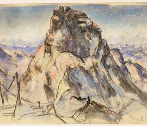 Friedrich Ludwig - Watzmann Mittelspitze