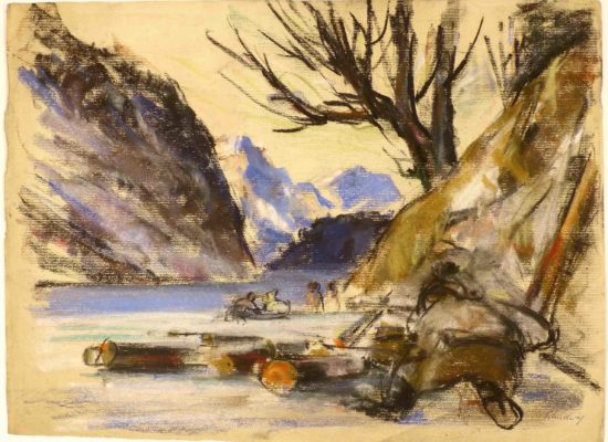 Friedrich Ludwig - Winter am Koenigssee