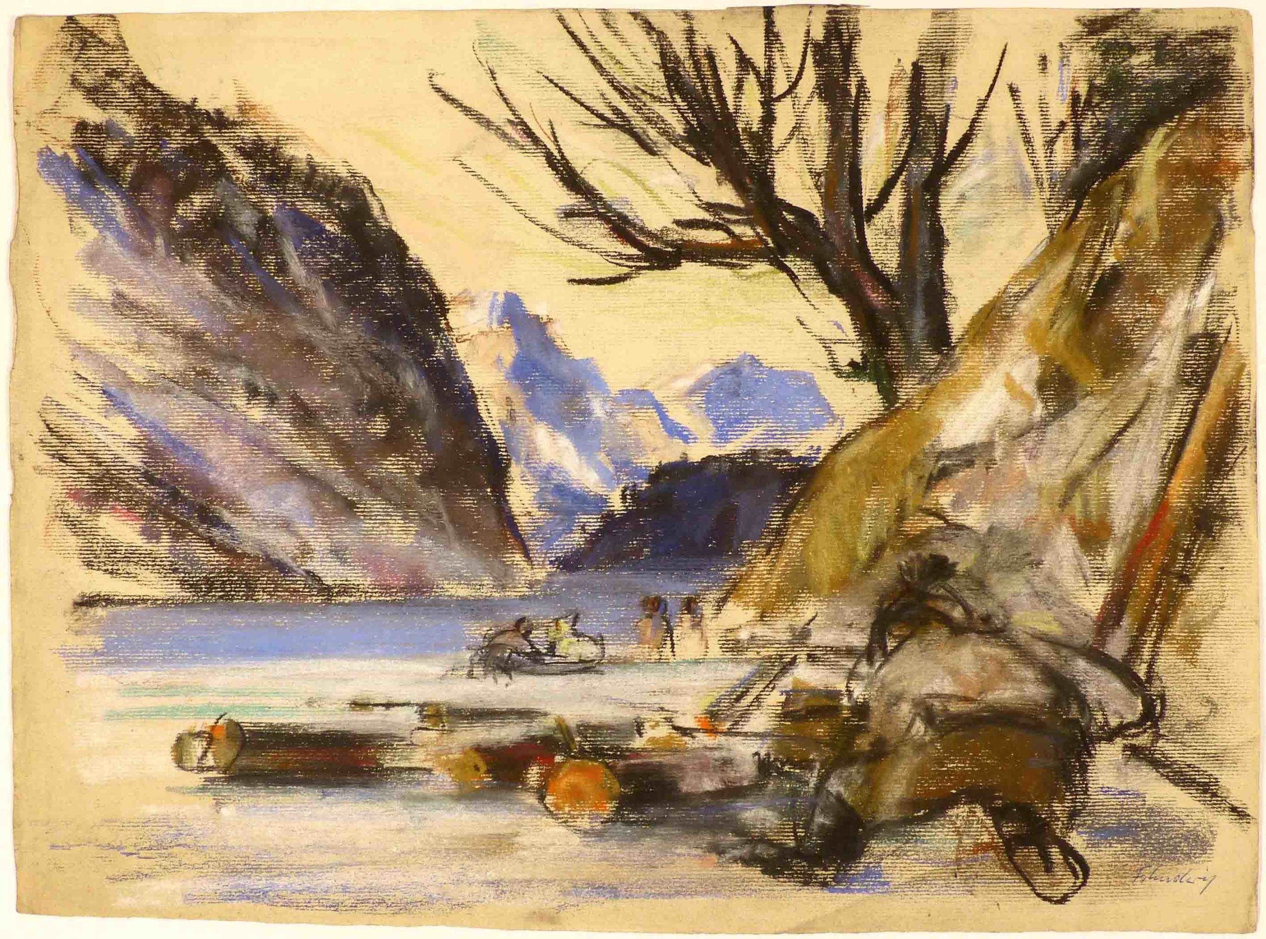Winter am Koenigssee