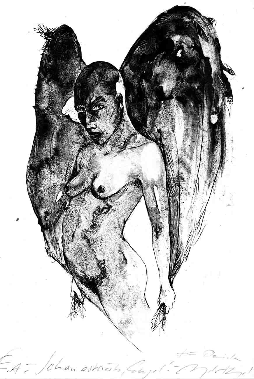 Schau ostwärts Engel