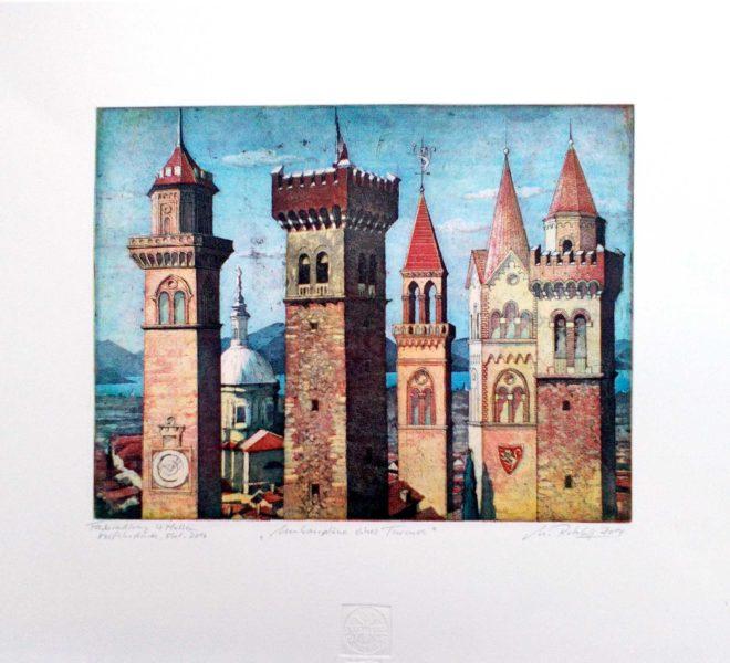 Markus Retzlaff - Umbaupläne eines Turmes