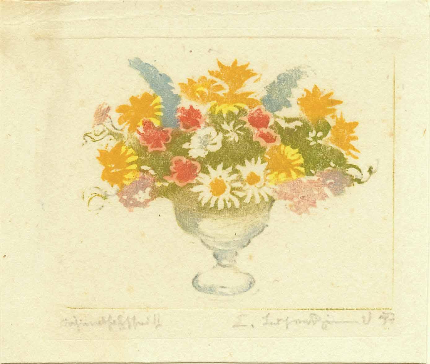 o.T. (Blumen in Vase)