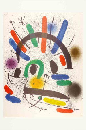 Joan Miró - Litografia original II