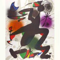 Joan Miró - Litografia original IV
