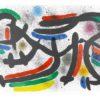 Joan Mirò Litografia original IX