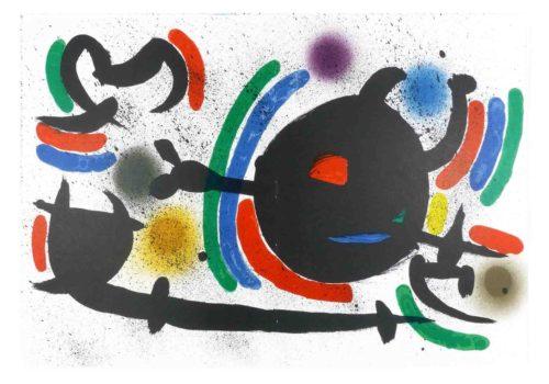 Joan Miró - Litografia original X